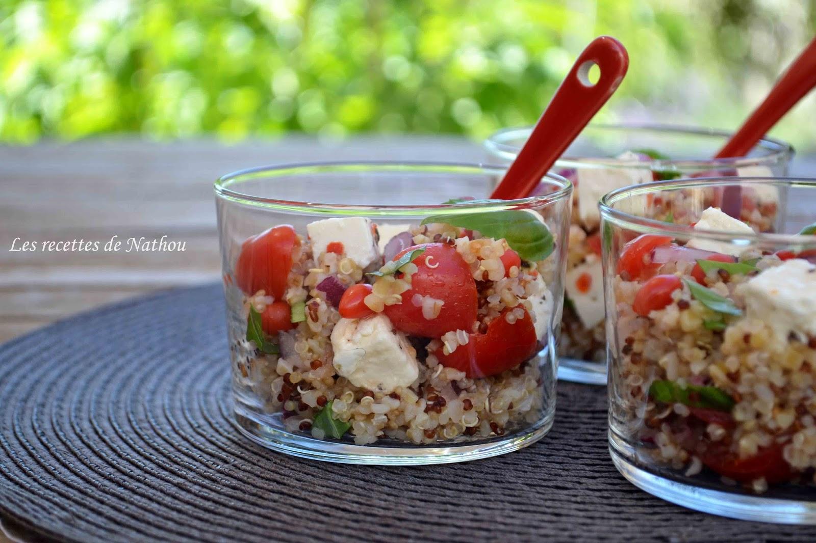 ma cuisine au fil de mes id es salade de quinoa et boulgour aux baies de goji feta oignon. Black Bedroom Furniture Sets. Home Design Ideas