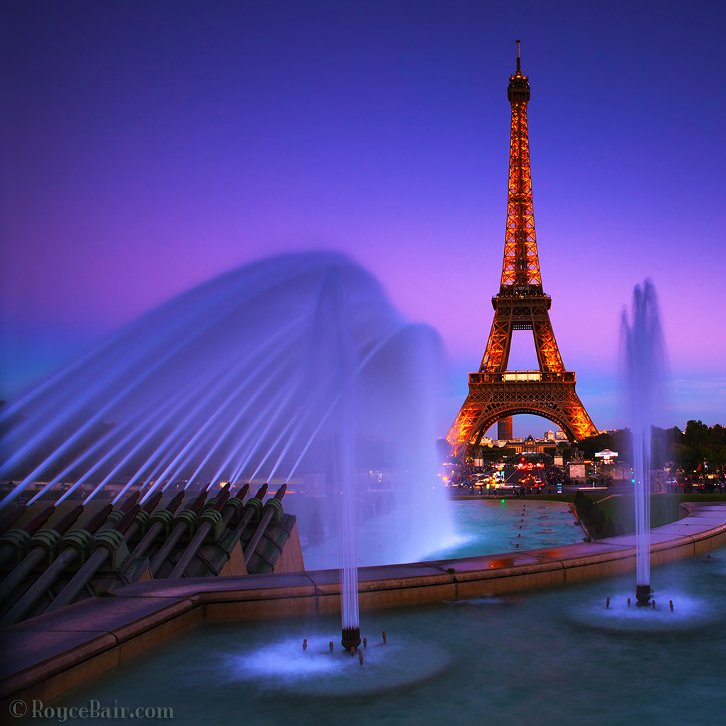 Into The Night Photography: Tribute To Paris