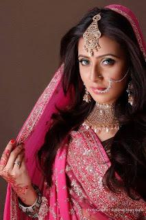 Bidya Sinha Saha Mim In Pink Saree