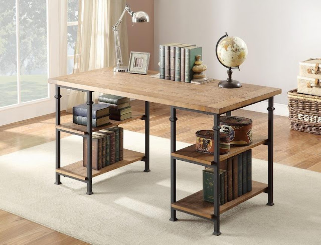 best buy cheap rustic office desk for sale online