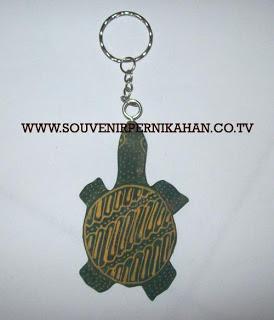 Souvenir Pernikahan Gantungan Kunci Batik Jogjakarta 16