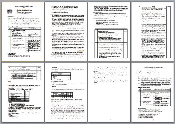Selengkapnya mengenai susunan dan isi berkas RPP PAI Revisi  RPP PAI Revisi 2017 SD Kelas 3 Kurikulum 2013