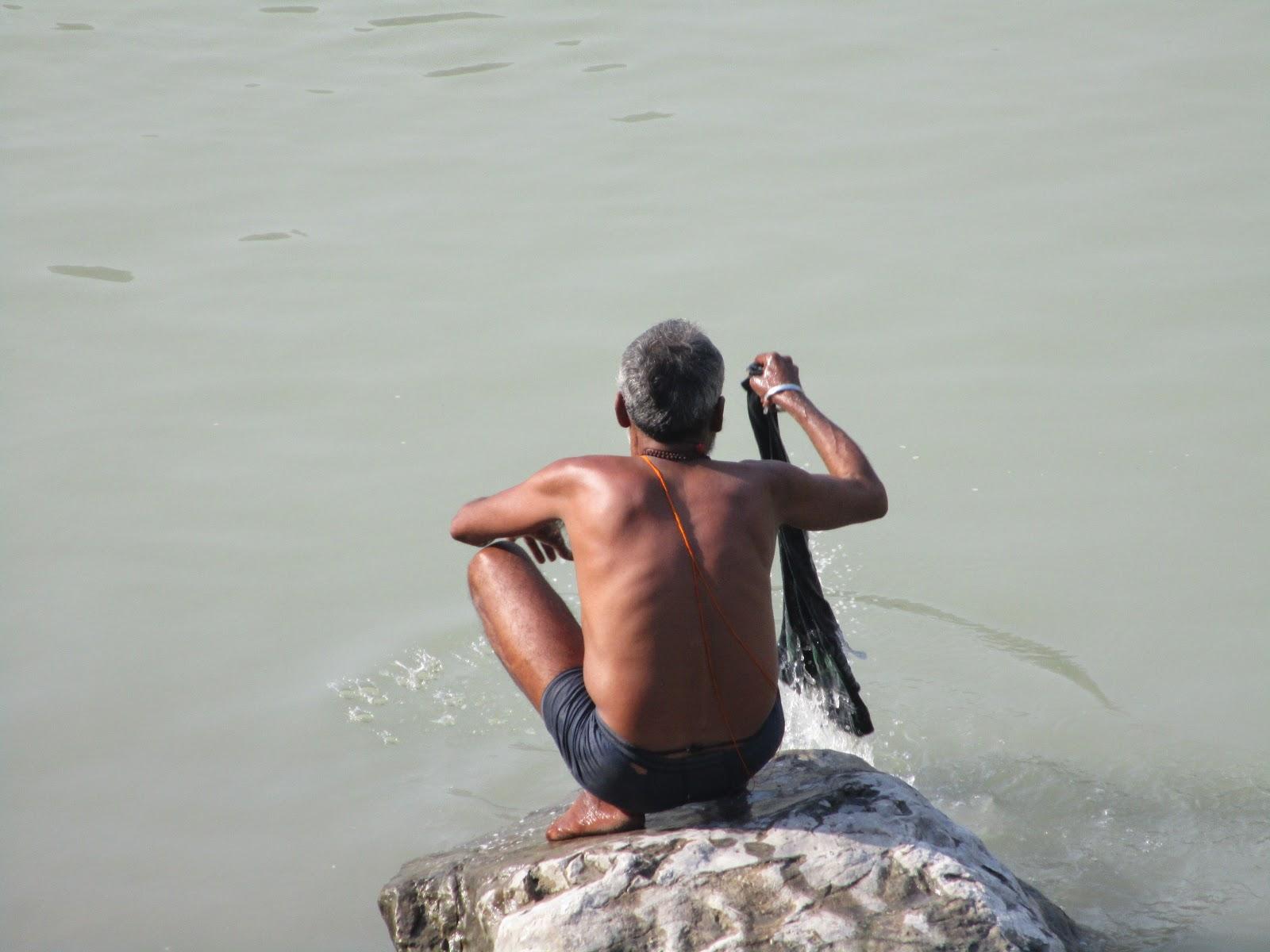 heiliger fluss indien