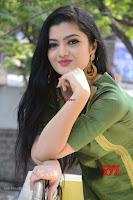 Akshitha cute beauty in Green Salwar at Satya Gang Movie Audio Success meet ~  Exclusive Galleries 002.jpg