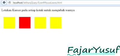 jQuery : Events