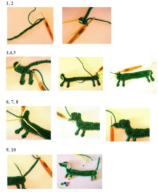 Patrones de Crochet en 1 Imagen
