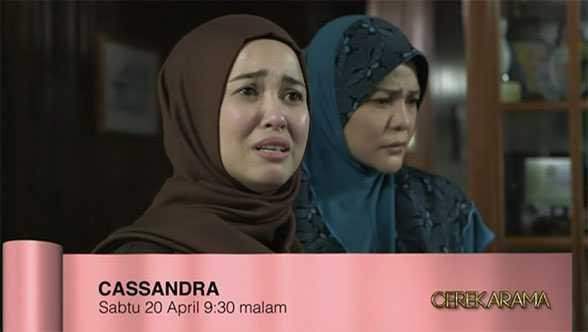 Cerekarama Cassandra lakonan Emma Maembong