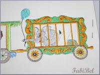 cadeau lit bébé broderie machine cirque