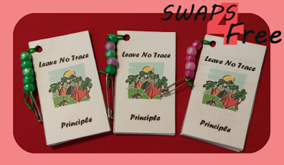 Leave No Trace Scout Booklet SWAPS