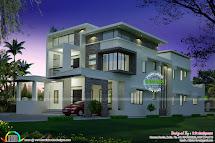 Flat Roof Modern Home Design