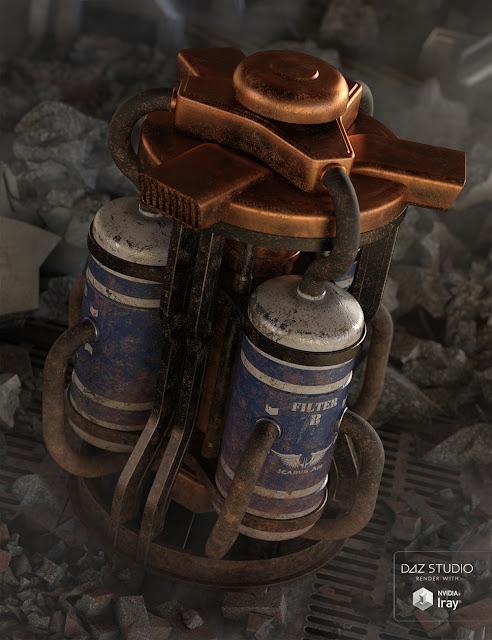 Sci Fi Air Scrubber