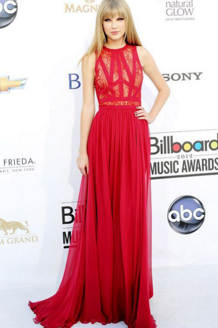 Taylor Swift red carpet dress