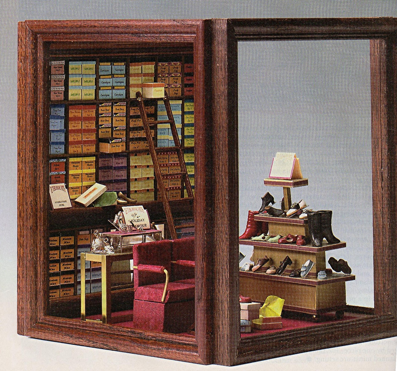 Diy Wooden Dollhouse Mini Glass Dollhouse Miniature Room: DYI DOLLHOUSE MINIATURES: MAKING ROOMS & DISPLAY BOXES