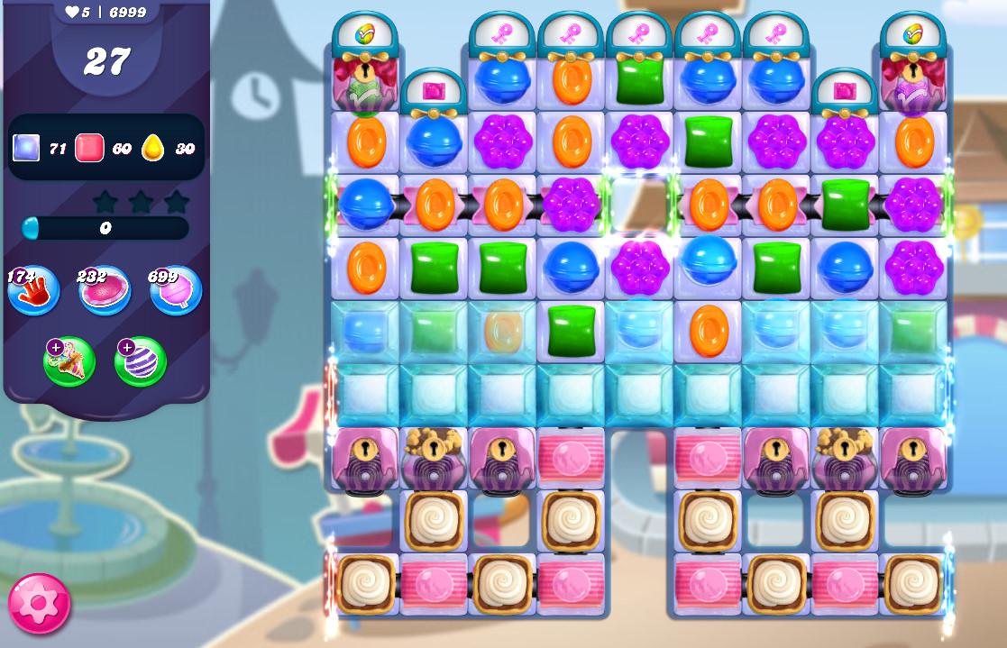 Candy Crush Saga level 6999