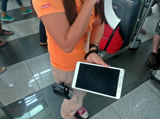 Tablet Check-in: Cebu Pacific         ~          Philippine Travel Notes