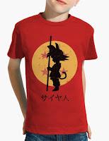Camiseta niño En busca de las Bolas de Dragón