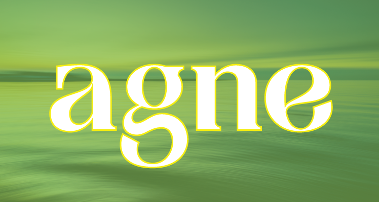 Agne Font Preview