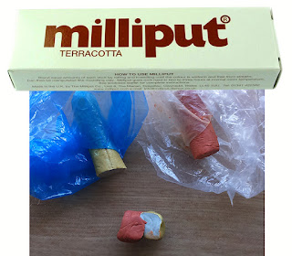 Milliput Terracotta Epoxy Putty
