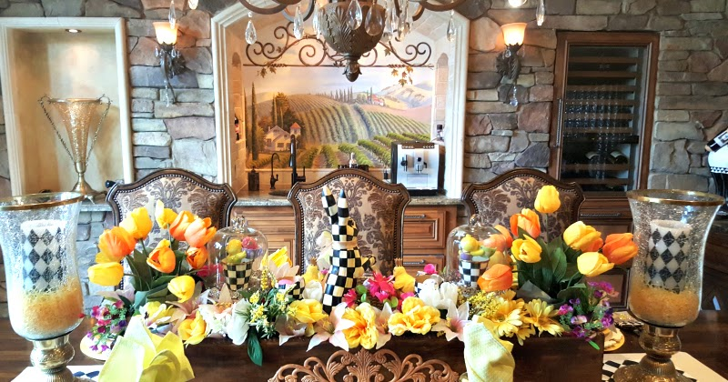 Easter Table With Mackenzie Childs Life And Linda