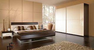 Dormitorio chocolate y crema