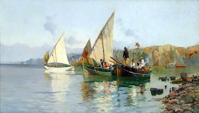 Francisco Hernández Monjo, Paisajistas españoles, Paisajes de Francisco Hernández Monjo, Pintores de Menorca, Pintor español