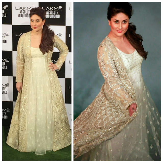 Kareena Kapoor Turns Showstopper for Anita Dongre At LFW 2017