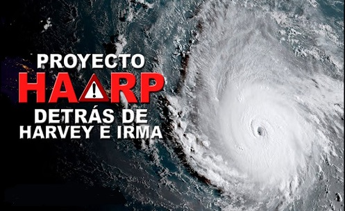 Cientistas declaram que o Projeto HAARP Manipulou os Furacões Harvey e Irma!!