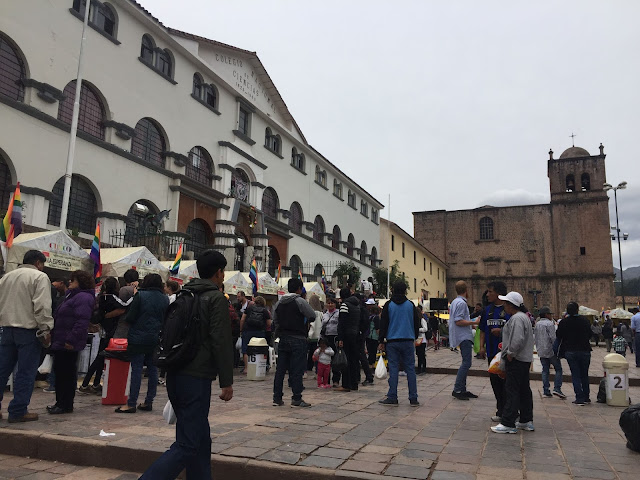 Plaza de San Francisco Cuzco