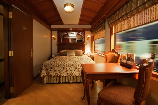 maharaja express train cabin