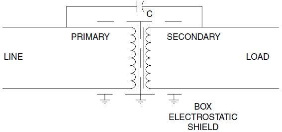 isolation transformer diagram