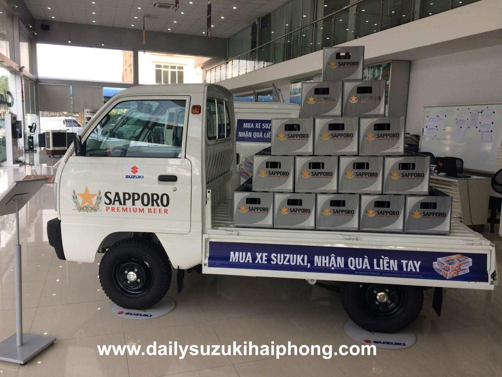 Xe tải Suzuki 5 tạ Hải Phòng