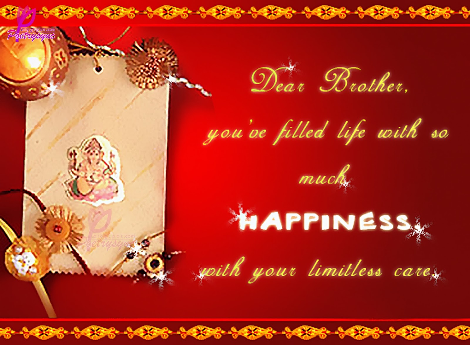 Meaning of raksha bandhan raksha bandhan wishes greeting cards check the latest images of raksha bandhan wishes greeting cards m4hsunfo Images