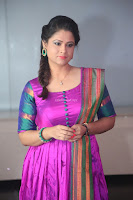 Shilpa Chakravarthy in Purple tight Ethnic Dress ~  Exclusive Celebrities Galleries 026.JPG