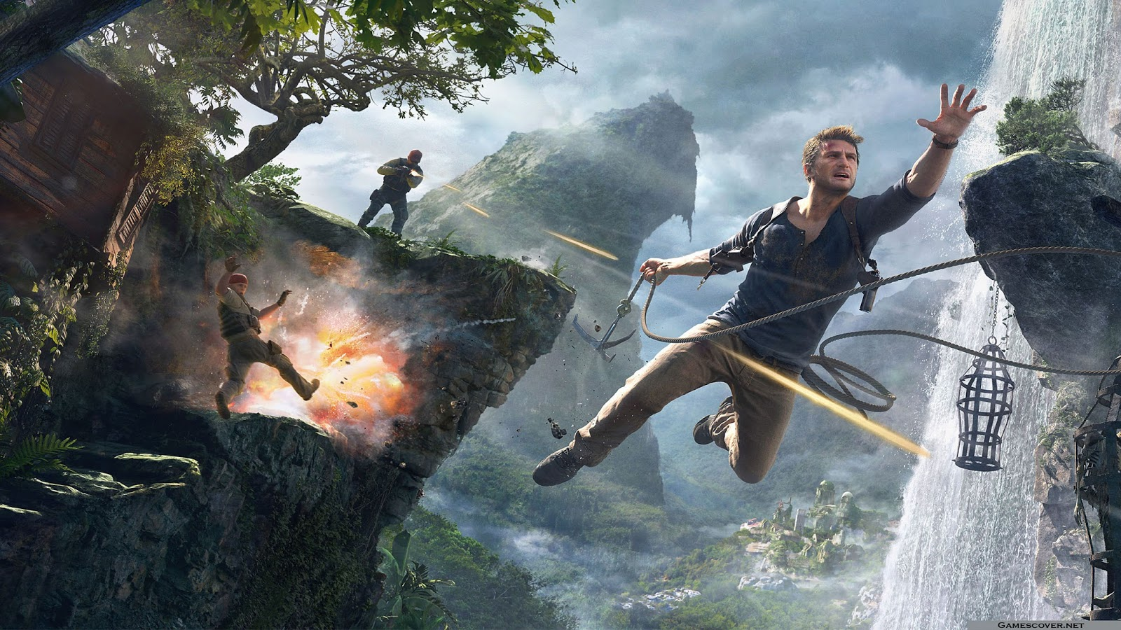 Uncharted 4 Wallpapers - Read games review, play online games & download games wallpapers