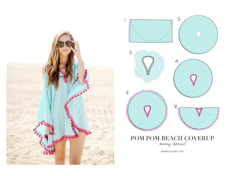 Très PATRON GRATUIT : Idées de couture facile pour l'été Bettinael  UT03