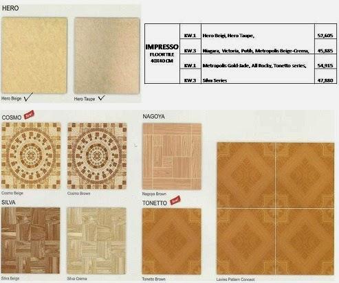 Daftar Harga Keramik Kia Impresso Terbaru