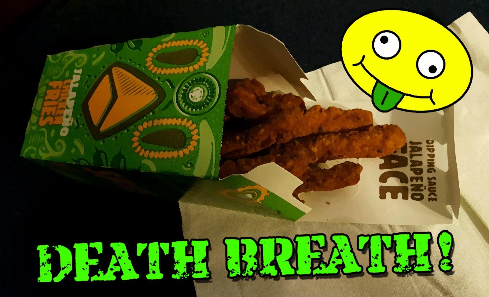 Haiku Food Review Jalapeno Chicken Fries Burger Kings