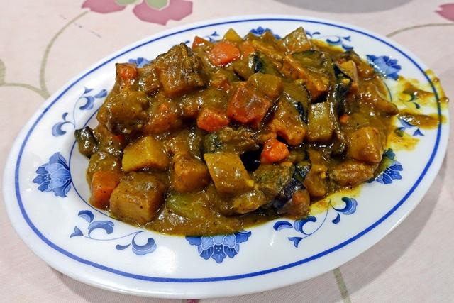 咖哩油豆腐