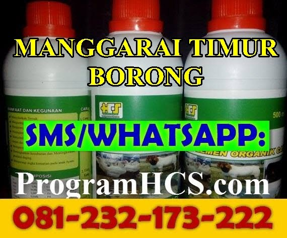 Jual SOC HCS Manggarai Timur Borong