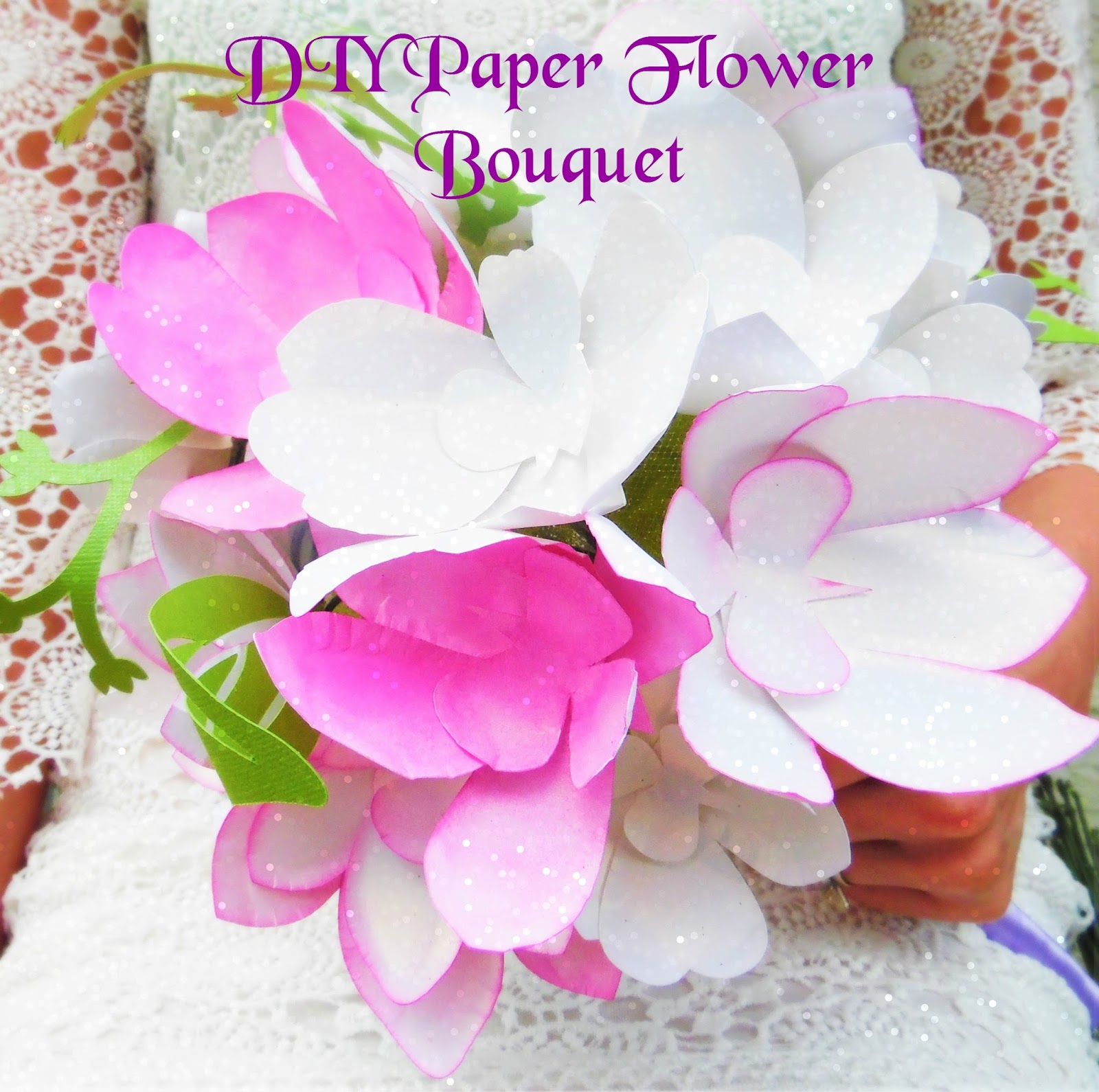How To Stem A Paper Flower Abbi Kirsten Collections