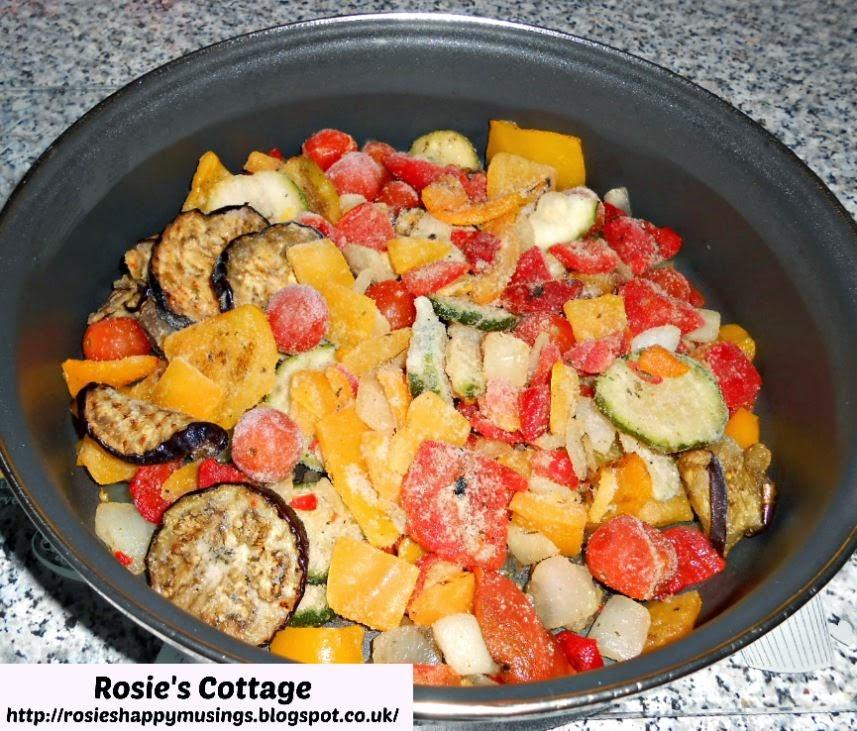 Frozen Mediterranean Vegetables Recipe