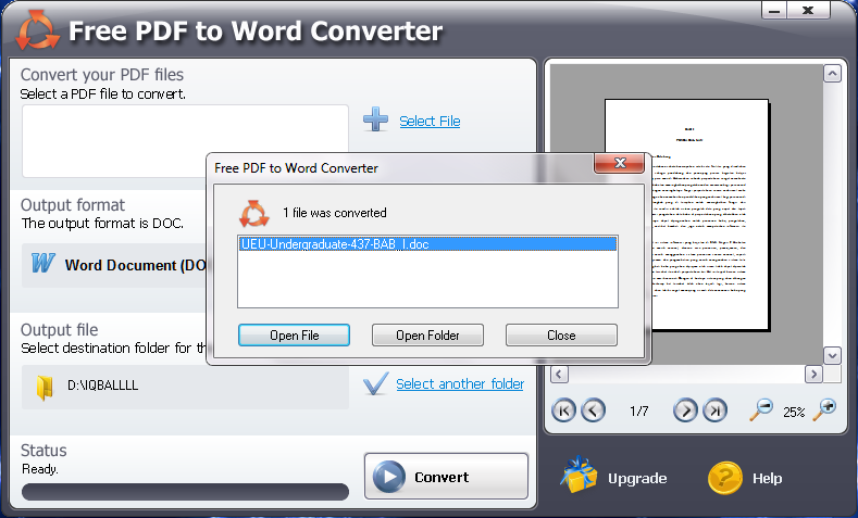 cara import pdf ke word