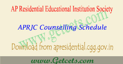 APRJC Counselling details 2021-2022 dates