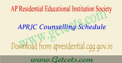 APRJC Counselling details 2018-2019 dates,aprjc counselling dates 2018,aprjc phase 1 counselling 2018, aprjc phase 2 counselling dates 2018