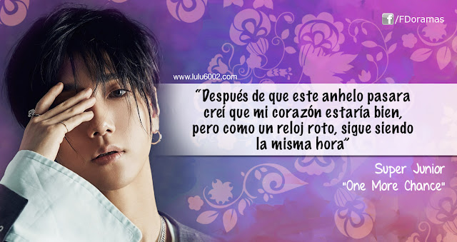 one more chance frases kpop