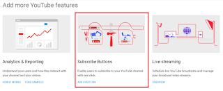 Pilih yang Add Button untuk Membuat Tombol Subscribe