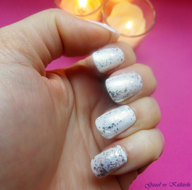 H&M Silver ve Silver Glitter Ojeler