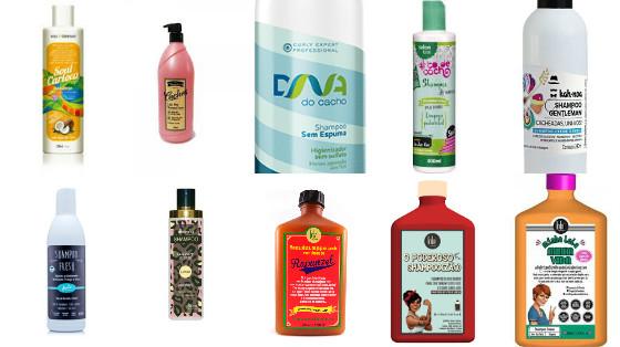 shampoos sem silicone low poo