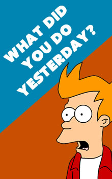 what did you do in school yesterday These past simple worksheets begin with a quick review of the past simple and common time expressions used with the past simple what did you do yesterday i played football when i was in high school were you able to go to the meeting in may.