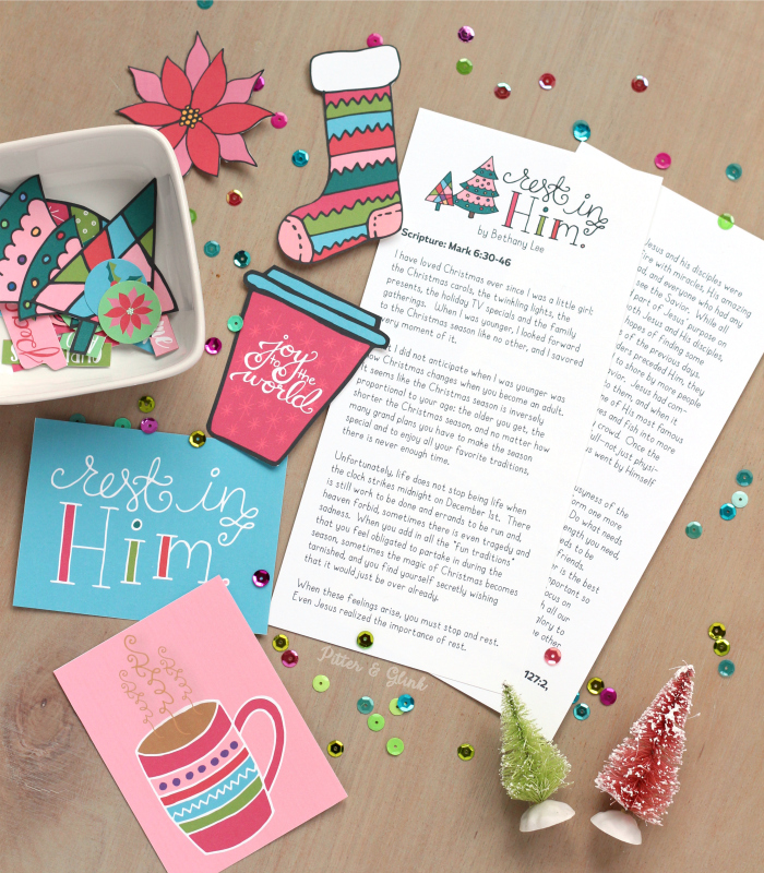 Free Printable Devotion + Journaling Goodies